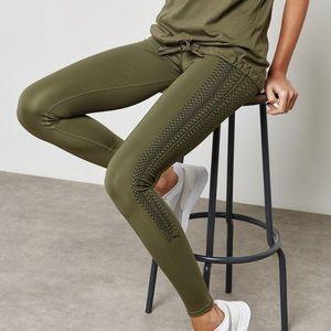 Puma Army Green Leggings